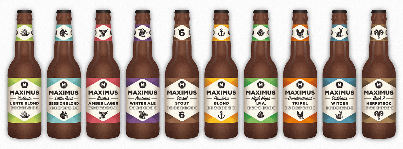 Maximus-bierbanner-vaste-bieren hoge resolutie