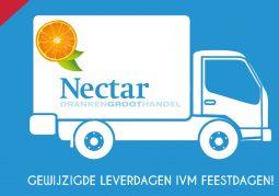 Nieuwsbrief-Nectar-Utrecht-Feestdagen-Gewijzigde-Leverdagen