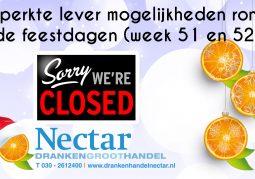 Nieuwsbrief-Nectar-Utrecht-Gesloten