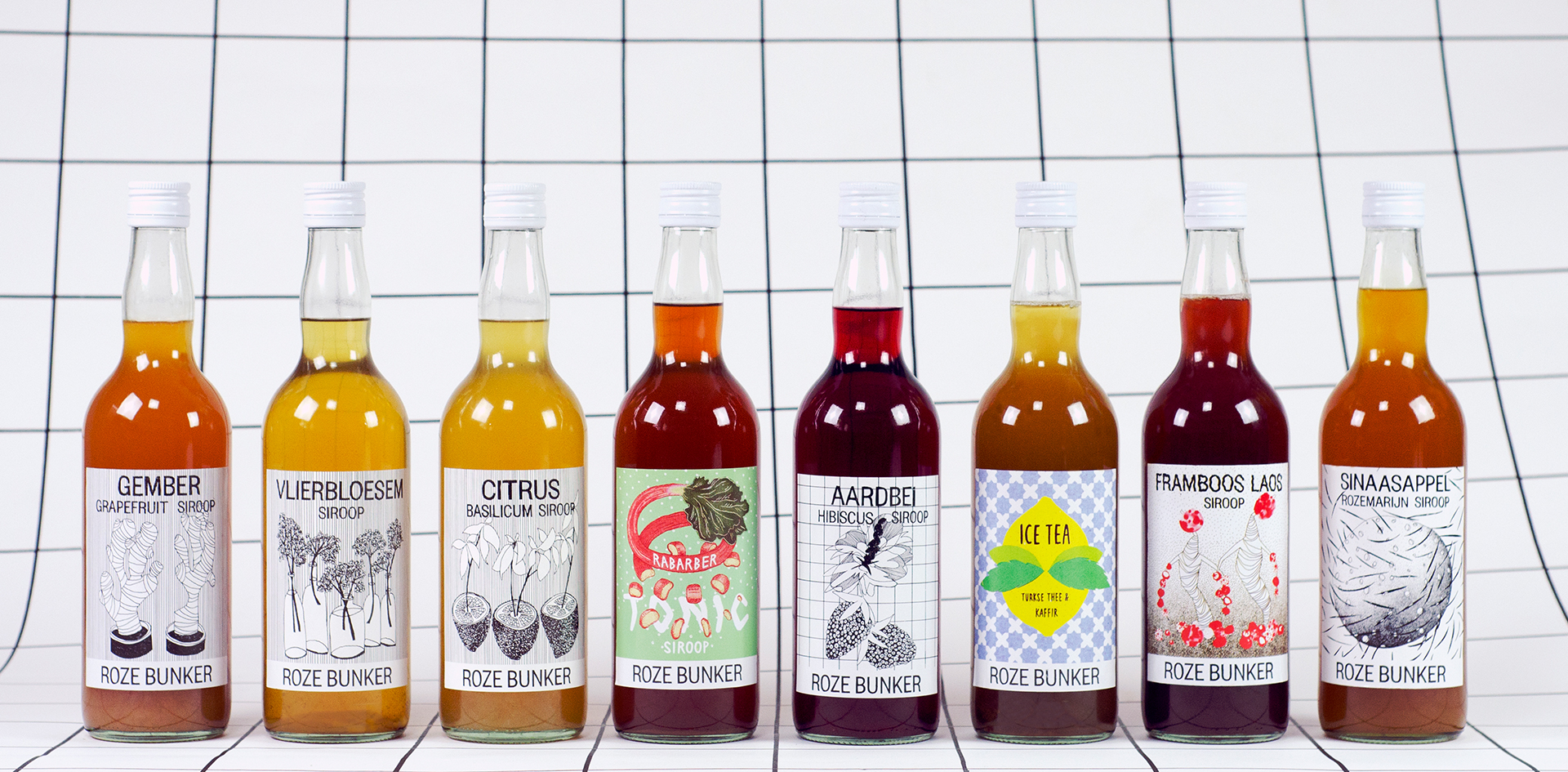 nectar-utrecht-frisdrank-siropen-producent-nederland-streekproduct-utrecht-roze-bunker-assortiment